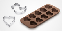 Cookie cutters, moulds
