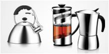 Tea and coffee making, tea and coffee makers